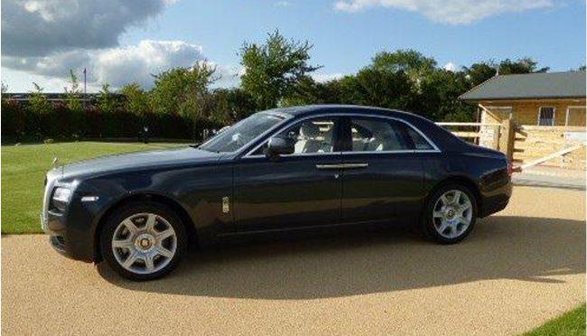 Long Car in Black color